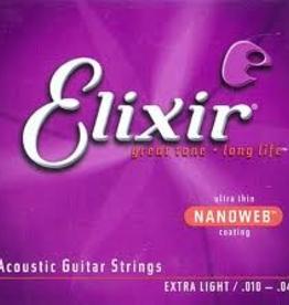 Elixir Elixir Nanoweb Xtra LT 10-47 Acoustic Guitar Strings 80/20 Bronze
