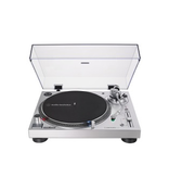 Audio-Technica Audio-Technica AT-LP120XUSB-SV Fully manual 3-speed direct drive USB/analog turntable system, silver