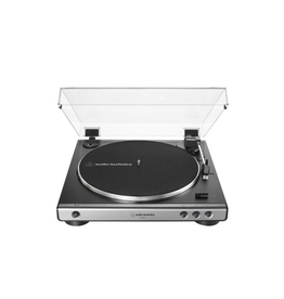 Audio-Technica Audio-Technica AT-LP60X-GM Fully automatic stereo turntable system, gunmetal/black