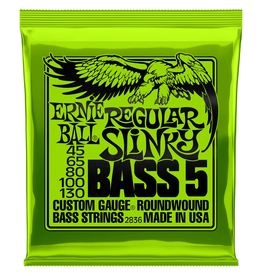 Ernie Ball Ernie Ball Regular Slinky 5 String Bass 45-130