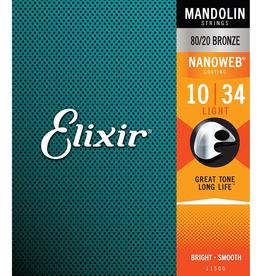 Elixir Elixir Light 10-34 Mandolin Strings