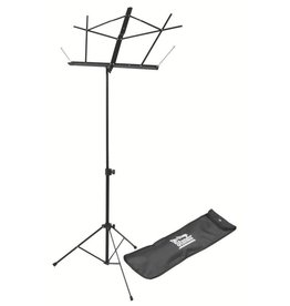 On Stage On Stage Sheet Music Stand w/ Carrying Bag — Black