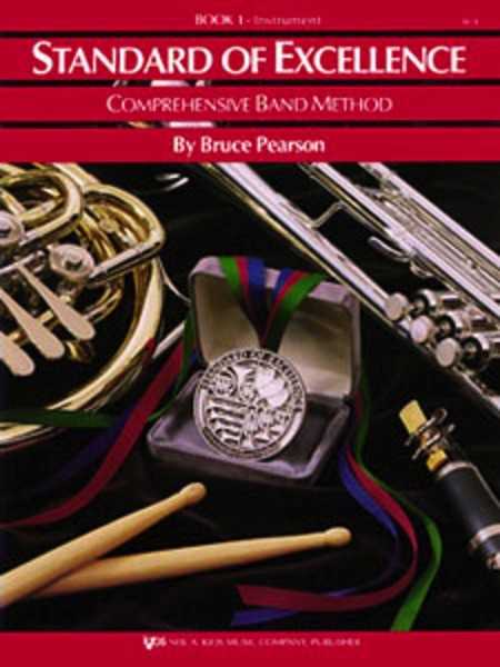 Standard of Excellence Book 1, Baritone Saxophone