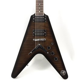 Dean Dean V 79 Flame Top Trans Black