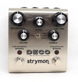 Strymon Deco Tape Saturation - Tape saturation and doubletracker effect pedal