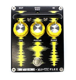 Third Man Exclusive Black Flex Monophonic Synth-Fuzz Pedal by Mantic Pedals