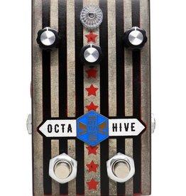 "Beetronics Beetronics Octahive ""American Beeauty"" Edition Octave Fuzz Pedal"