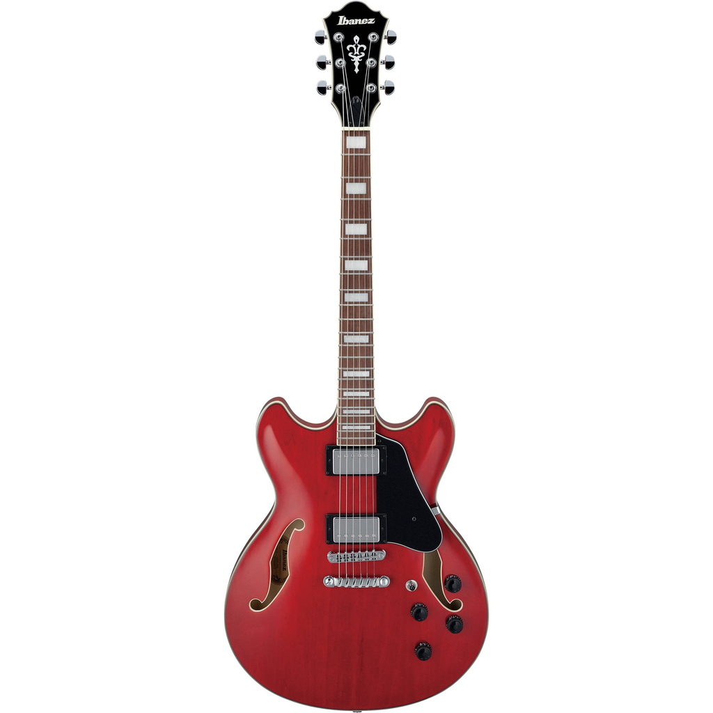Ibanez Ibanez AS Artcore 6str Electric Guitar  - Transparent Cherry Red