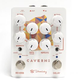 Keeley Keeley Caverns Delay/Reverb V2 - 650ms Delay with Modulation. Spring, Shimmer, and Modulated Reverb. Trails or True Bypass
