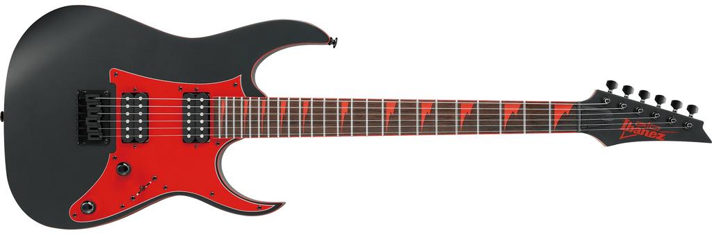 Ibanez Ibanez GIO RG 6str Electric Guitar - Black Flat