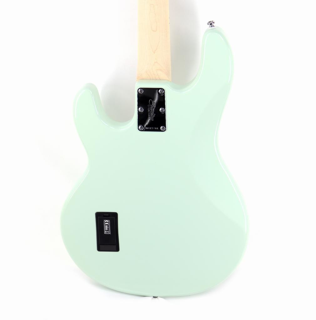 Sterling by Music Man S.U.B. Series StingRay in Mint Green