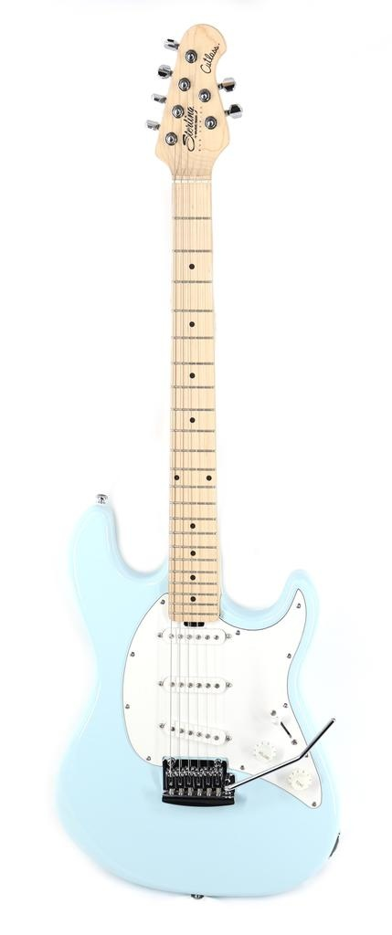 Sterling by Music Man S.U.B. Series Cutlass SSS in Daphne Blue