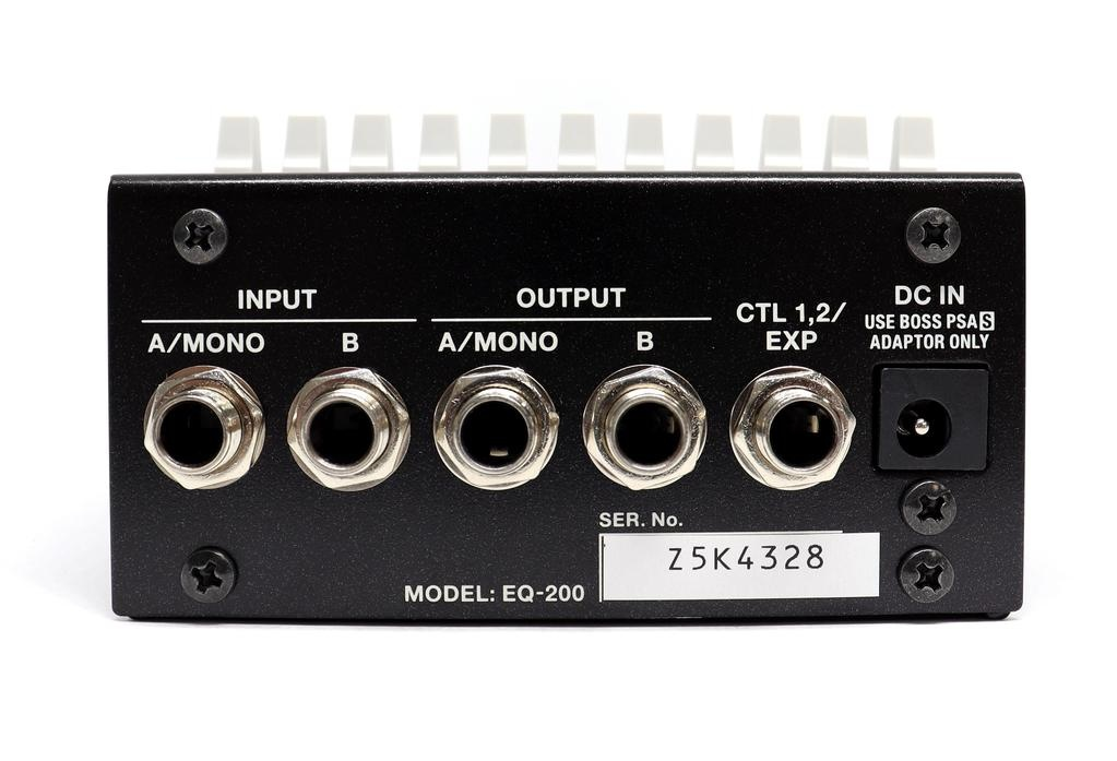 BOSS BOSS EQ-200 Graphic Equalizer Pedal
