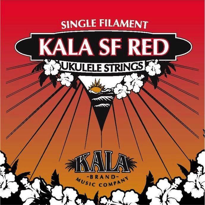 Kala Kala Reds MonoFilament Ukulele Strings for Soprano