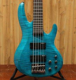ESP LTD ESP B-155 DX Transparent Blue