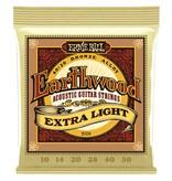 Ernie Ball Ernie Ball Earthwood Acoustic Guitar Strings Extra Light 10-50s