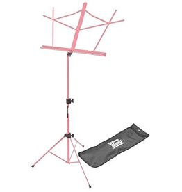 On Stage On Stage Sheet Music Stand w/ Carrying Bag —Pink