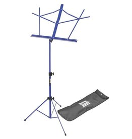 On Stage On Stage Sheet Music Stand w/ Carrying Bag — Dark Blue