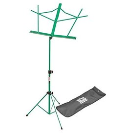 On Stage On Stage Sheet Music Stand w/ Carrying Bag — Green