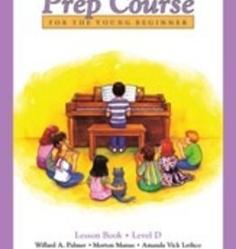 Alfred Publishing Alfred's Basic Piano Prep Course - Lesson Book: Level D