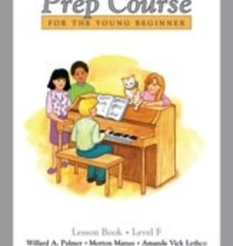Alfred Publishing Alfred's Basic Piano Prep Course - Lesson Book: Level F