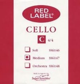 Super Sensitive Red Label Cello C 4/4 MD Single String