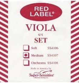 Super Sensitive Red Label Viola Set 4/4 MD
