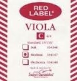 Super Sensitive Red Label Viola C Single String