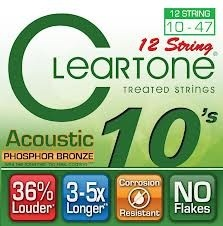 Everly Cleartone 12-string Acoustic Strings