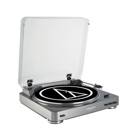 Audio Technica Audio Technica Fully automatic stereo turntable system, gun-metal color