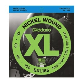 D&#039;Addario D&#039;Addario Long Scale Regular Light Bass Strings <br />