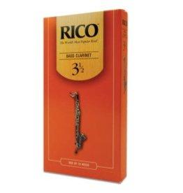 Rico Rico Bass Clarinet 25pk Single Reeds #3