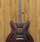 Ibanez Ibanez AS Artcore 6str Electric Guitar  - Transparent Red Flat