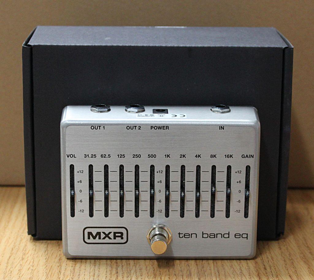 Dunlop MXR M108S Ten Band EQ Pedal