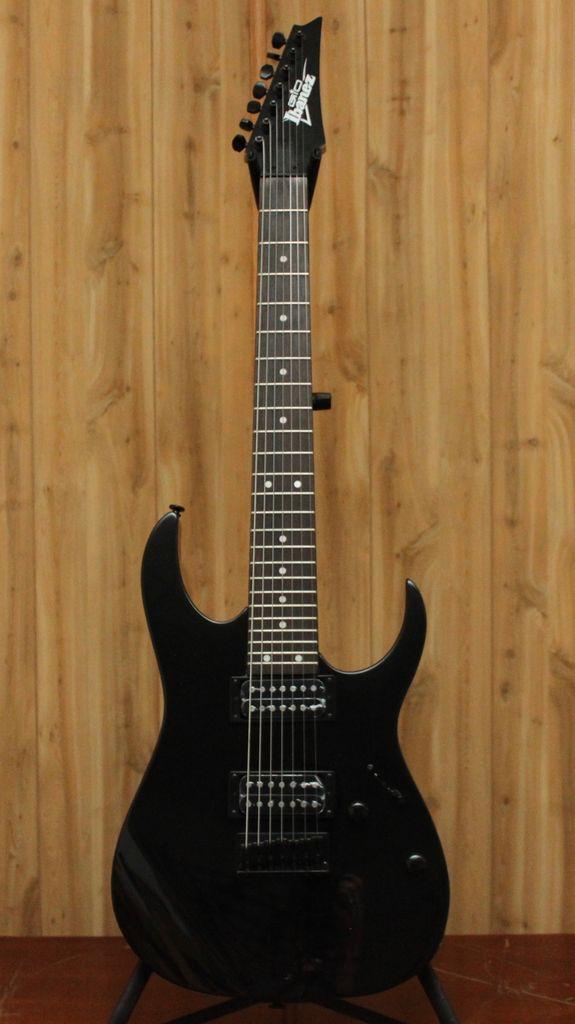 Ibanez Ibanez GIO RG 7-String Electric Guitar in Black Night