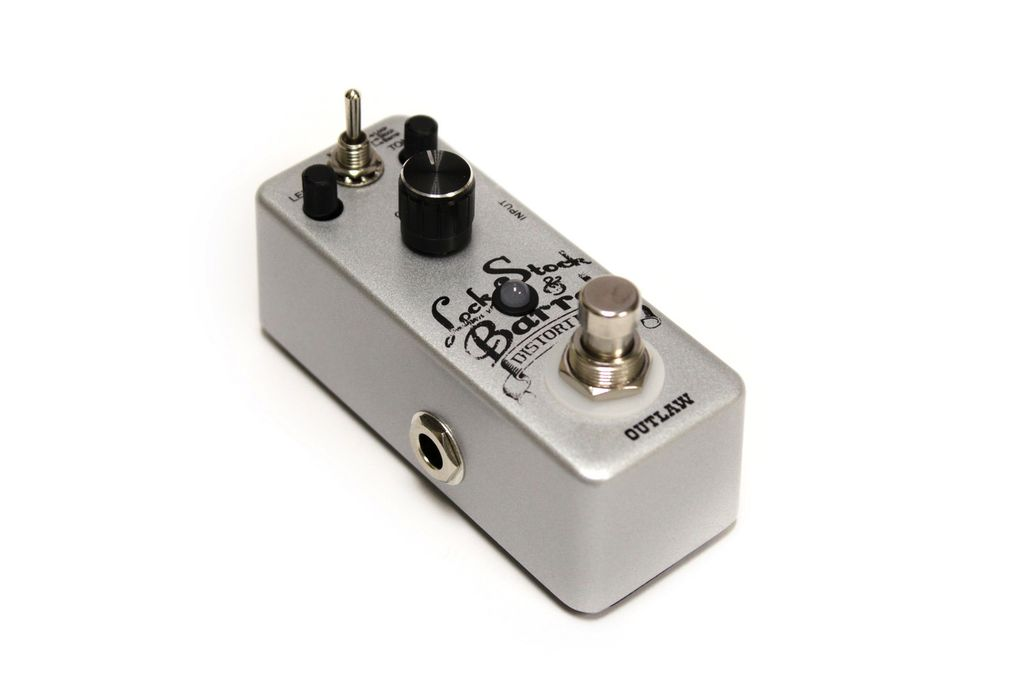 Outlaw Effects Lock, Stock & Barrel 3-Mode Distortion Pedal