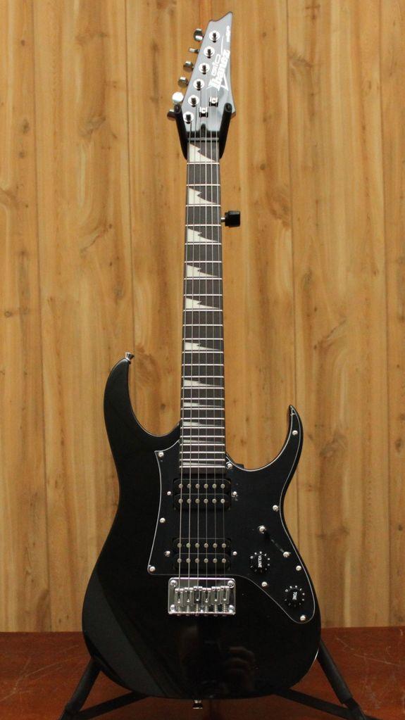 Ibanez Ibanez GIO RG miKro 6str Electric Guitar - Black Night