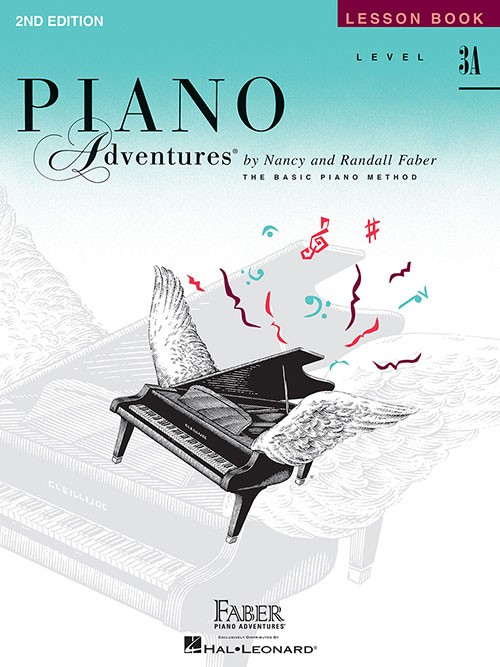 Faber Piano Adventures Lesson Book Level 3A