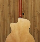 Seagull Seagull Performer Cutaway Mini Jumbo Flame Maple High Gloss QIT w/Embroidered Gig Bag