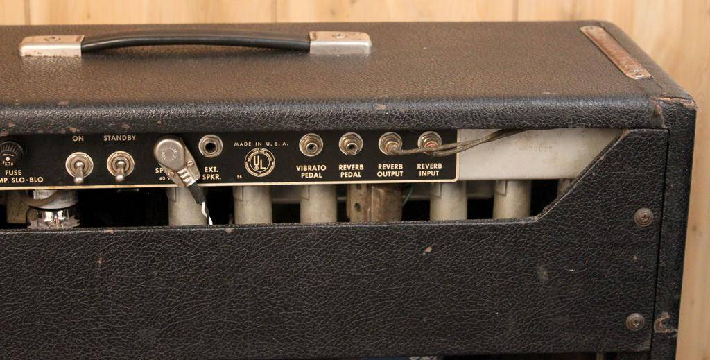 Fender Used Vintage Fender 1968 Super Reverb — New Tubes!