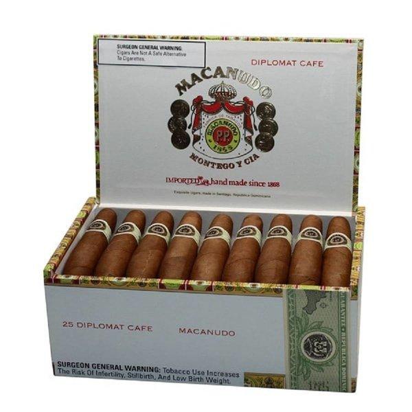 Macanudo Macanudo Diplomat Cafe Box of 25