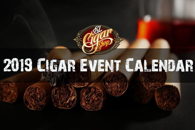 2019 Cigar Event Calendar