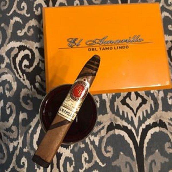 DBL Cigars DBL Tamo Lindo El Amarillo Fancy Belicoso
