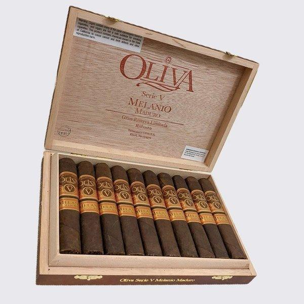 Oliva Oliva Serie V Melanio Maduro Robusto Box of 10