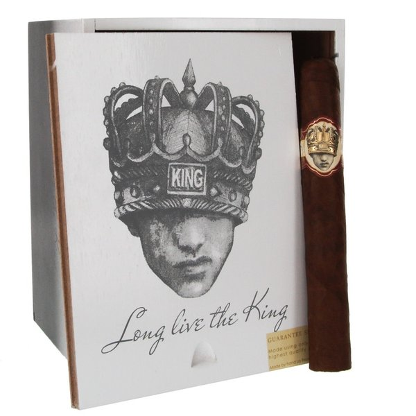 Caldwell Cigars Caldwell Cigars Long Live the King Petit Double Wide Box of 24