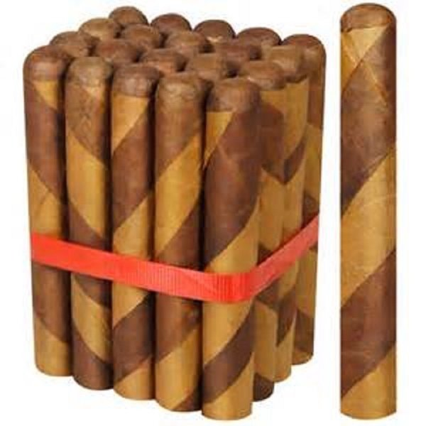 DBL Cigars El Cigar's Dominican Barber Pole Toro Gordo Bundle of 20