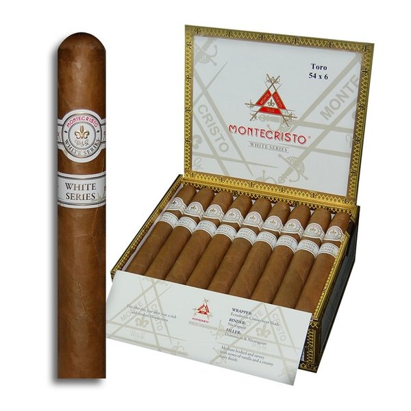 Monte Cristo MonteCristo White Toro Box of 27
