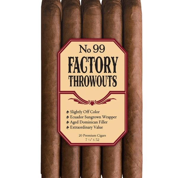 JC Newman/ Fuente J.C. Newman #99 Factory Throwouts Natural