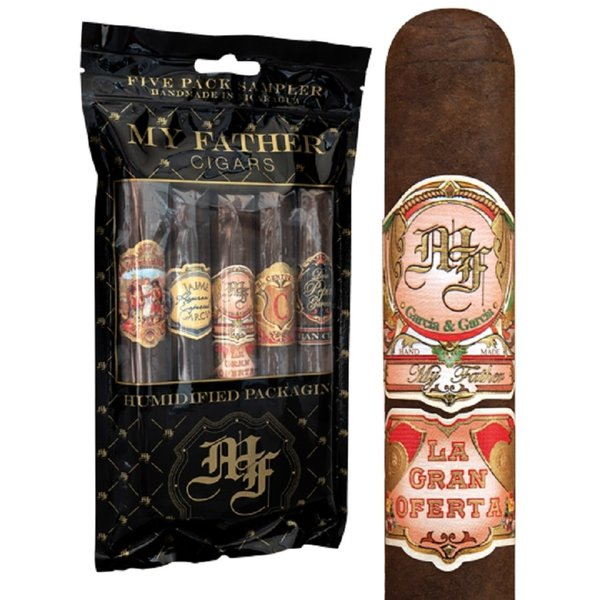 My Father Cigars My Father Five Pack Humidified Sampler #2