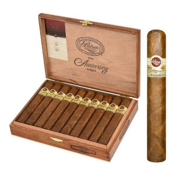 Padron Cigars Padron 1964  #4 Natural Box of 20
